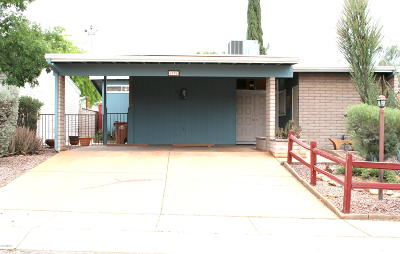 Tucson Single Family Home Active Contingent: 6976 N Village View Drive
