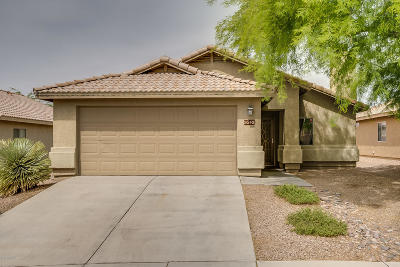 Tucson Single Family Home Active Contingent: 9549 N Scarlet Tanager Lane