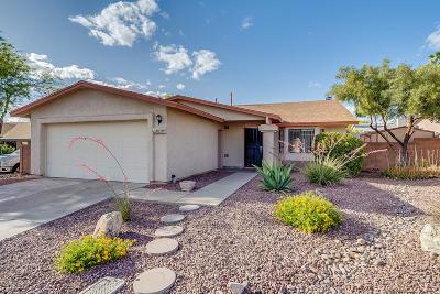 Tucson Single Family Home Active Contingent: 4656 W Daphne Lane