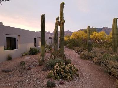Tucson Single Family Home Active Contingent: 5545 N Entrada Ultima