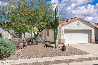 Tucson Single Family Home Active Contingent: 7666 W Cathedral Canyon Drive