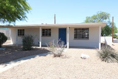 Tucson Single Family Home For Sale: 1202 W El Caminito Place