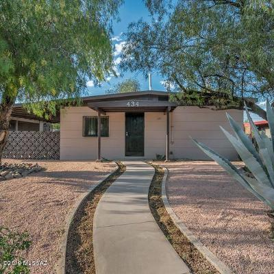 Pima County Single Family Home Active Contingent: 434 W Calle Antonia