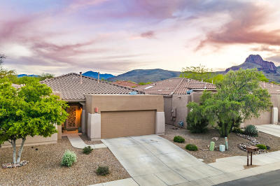 Tucson Single Family Home Active Contingent: 7519 W Sweet River Road