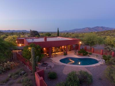 Tucson Single Family Home Active Contingent: 5465 N Blue Bonnet Road