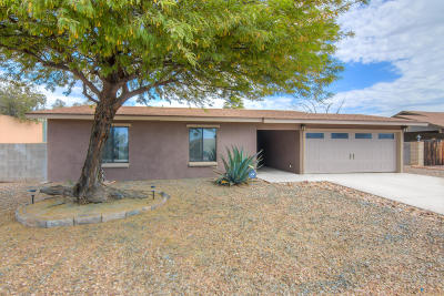 Tucson Single Family Home Active Contingent: 3772 W Rudolf Drive