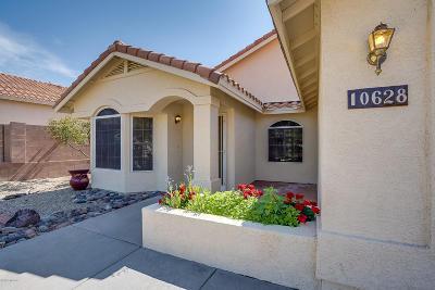 Tucson Single Family Home For Sale: 10628 N Camino Rosas Nuevas