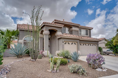 Tucson Single Family Home For Sale: 2005 W Golden Rose Place