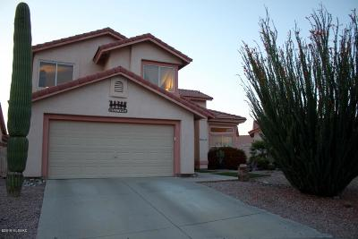 Tucson Single Family Home Active Contingent: 9960 N Pony Place