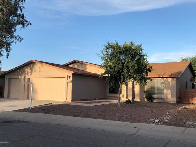 Tucson Single Family Home Active Contingent: 8690 N Chinaberry Way