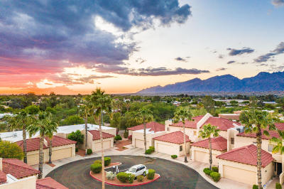 Pima County Townhouse For Sale: 8437 E Agape Drive