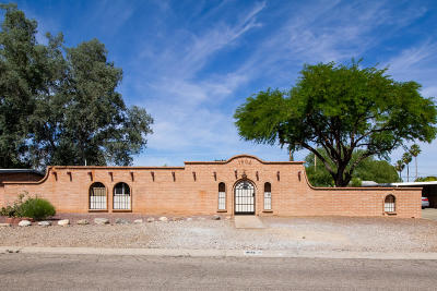 Tucson Single Family Home Active Contingent: 1802 S Avenida Planeta