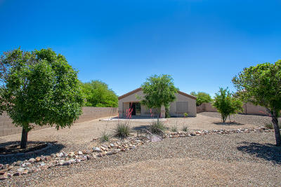 Pima County, Pinal County Single Family Home Active Contingent: 546 S Stone Bench Road