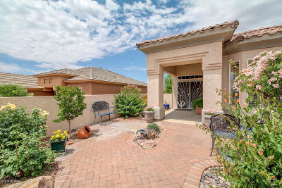 Marana Single Family Home Active Contingent: 13681 N Heritage Canyon Drive