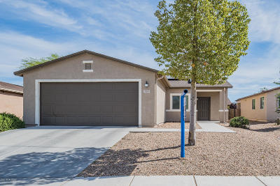 Tucson Single Family Home Active Contingent: 5021 E Cream Cups Place