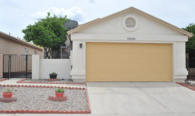 Tucson Single Family Home Active Contingent: 3397 W Millwheel Lane