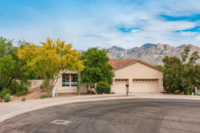 Oro Valley Single Family Home Active Contingent: 11770 N Copper Ridge Place