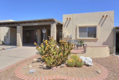 Pima County Townhouse For Sale: 1430 W Camino Lucientes