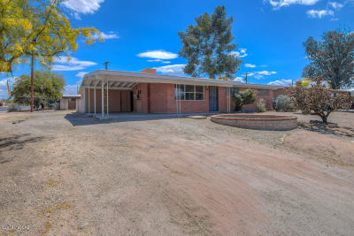 Pima County Single Family Home Active Contingent: 7064 E Timrod Street