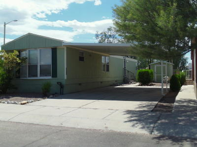 Pima County Manufactured Home Active Contingent: 4675 N Shorebrooke Avenue