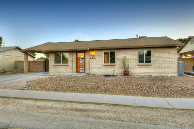 Tucson Single Family Home Active Contingent: 2970 W Coriander Drive