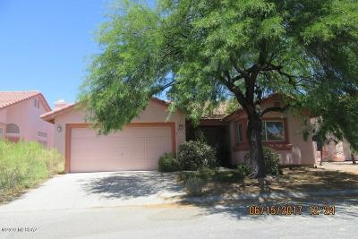 Pima County Single Family Home Active Contingent: 2970 W Sky Ranch Trail