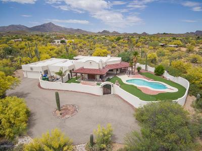 Tucson Single Family Home For Sale: 5423 N Blue Bonnet Road