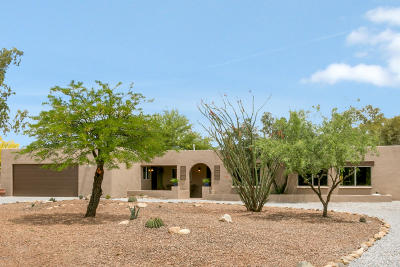 Tucson Single Family Home Active Contingent: 1700 W Chapala Drive