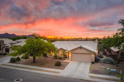 Tucson Single Family Home Active Contingent: 2168 Jacana Loop