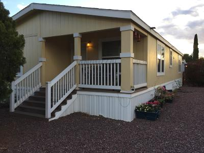 Pima County Manufactured Home Active Contingent: 6351 N Mango Way