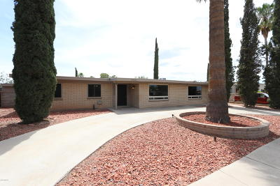 Tucson Single Family Home For Sale: 4552 S White Pine Drive