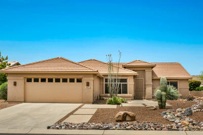 Tucson Single Family Home For Sale: 38252 S Lake Crest Drive