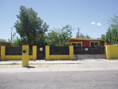 Tucson Single Family Home For Sale: 1102 E 30th Street