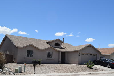 Single Family Home For Sale: 8076 E Blindweed Drive
