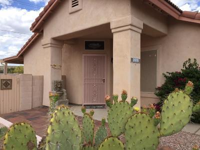 Tucson Single Family Home Active Contingent: 3680 W Mesa Ridge Trail