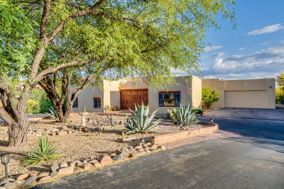 Tucson Single Family Home For Sale: 5732 E Territory Drive