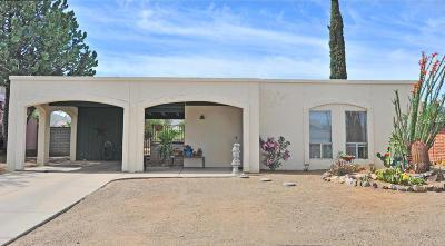 Corona de Tucson Single Family Home Active Contingent: 141 W Forrest Feezor Street