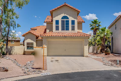 Tucson Single Family Home For Sale: 8901 N Lessing Court