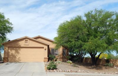 Tucson Single Family Home Active Contingent: 8654 S Desert Valley Way