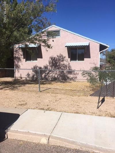 Cochise County Single Family Home For Sale: 279 E 6th Street