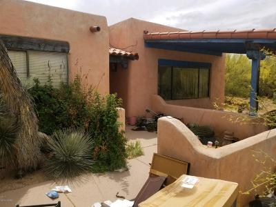 Tucson Single Family Home Active Contingent: 8910 N Camino De La Tierra
