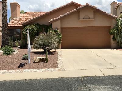 Tucson Single Family Home Active Contingent: 10476 N Fairway Vista Lane