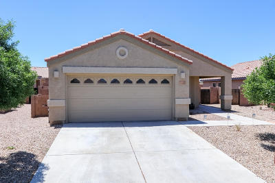Marana Single Family Home Active Contingent: 11047 W Coppertail Drive