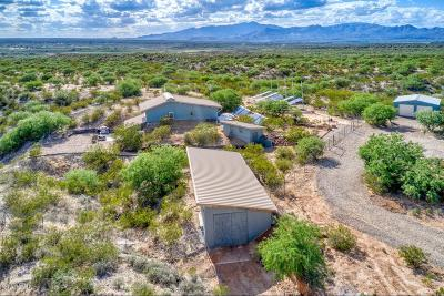 Cochise County Single Family Home Active Contingent: 975 E Two Hills Back Road