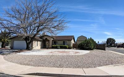 Sierra Vista Single Family Home Active Contingent: 3343 Flat Rock Court