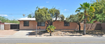 Tucson Single Family Home For Sale: 7640 N Meredith Boulevard