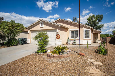 Tucson Single Family Home For Sale: 7695 S Meadow Spring Way