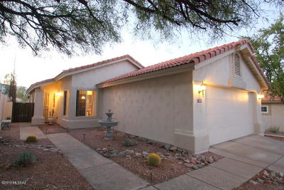 Oro Valley Single Family Home For Sale: 11550 N Eagle Peak Drive