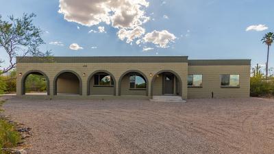 Tucson Single Family Home Active Contingent: 4745 N Paseo De Los Rancheros