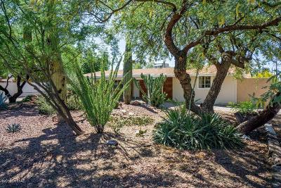 Tucson Single Family Home For Sale: 3502 E Edison Street